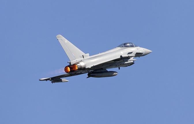 В результате крушения истребителей в Германии погиб пилот