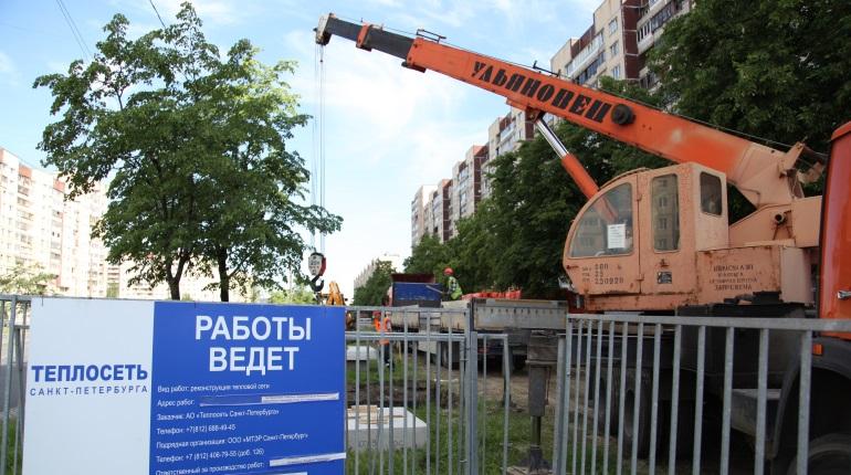 Теплосеть Петербурга поменяет трубы в нескольких районах