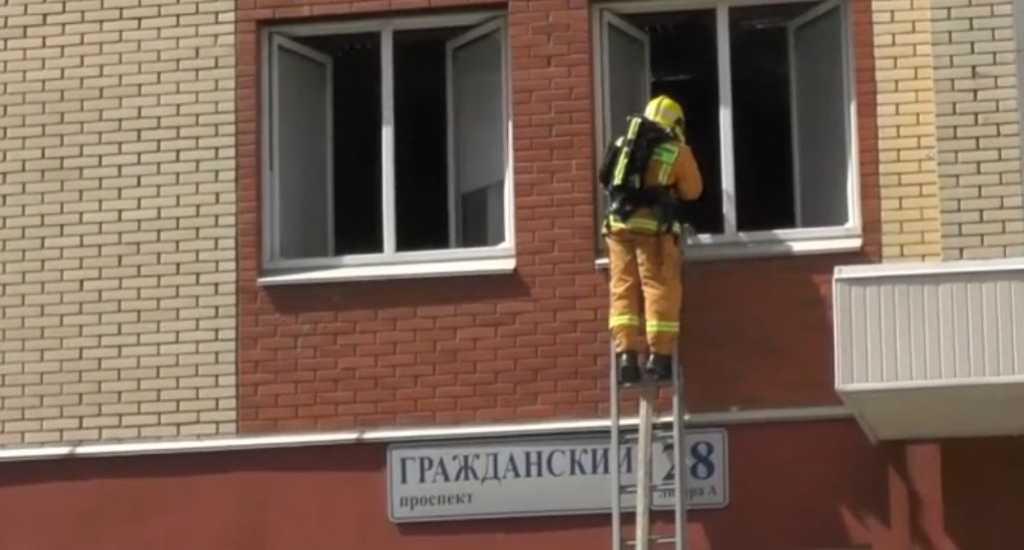 ФСБ показала кадры с учений в Политехе