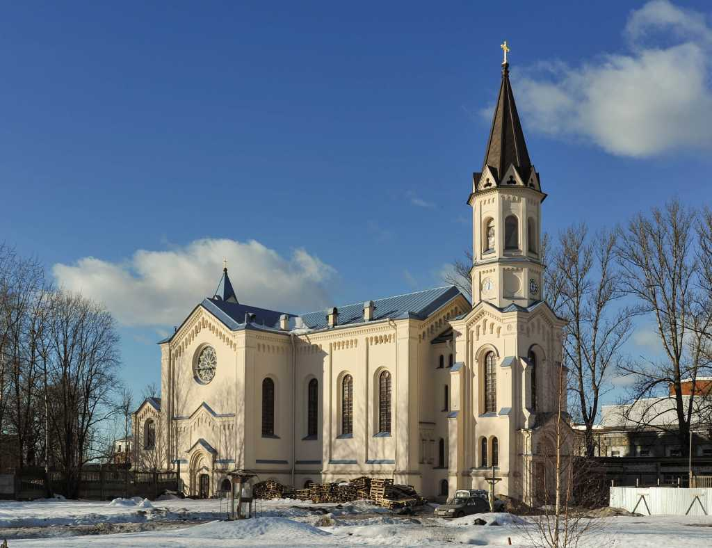 Храм на Минеральной Фото: vk.com