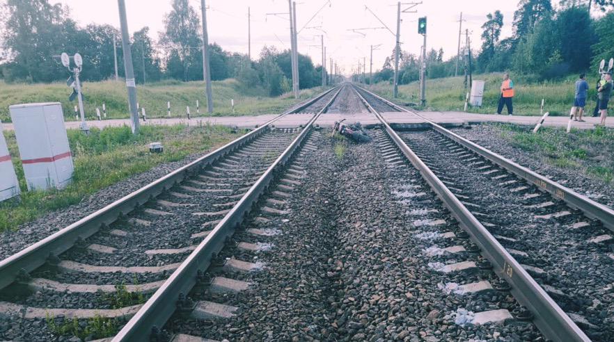 На железной дороге к Выборгу обновили переезды