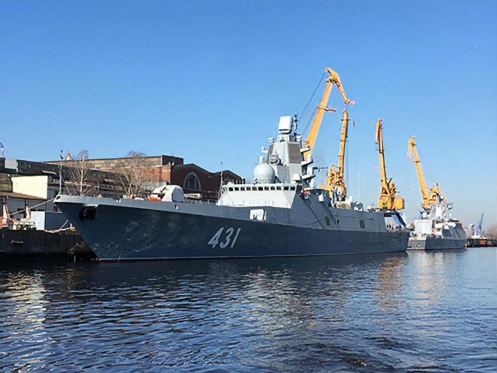 Заводские испытания фрегата «Адмирал Касатонов» вышли на финишную прямую