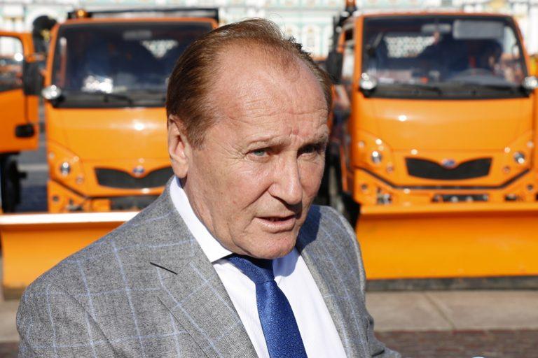 Экс-председатель комитета по благоустройству Владимир Рублевский. Фото: Мойка78/Николай Овсянников