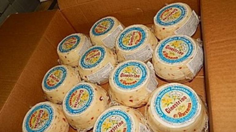 Десять тонн деликатесов из Италии остановили в Псковской области