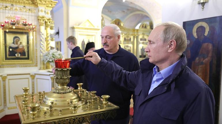 Путин и Лукашенко проведут переговоры в Петербурге