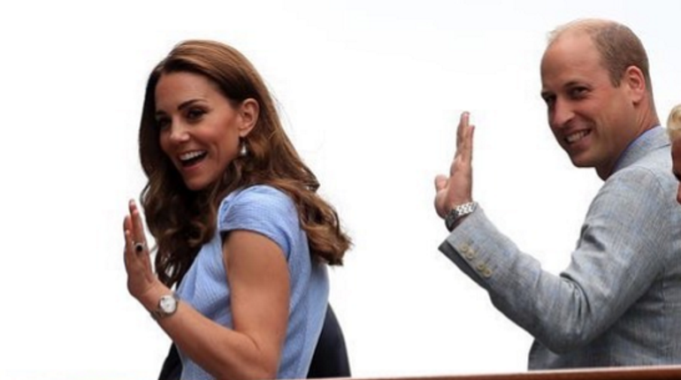 Принц Уильям и Кейт Миддлтон с детьми поехали отдыхать на Карибы
