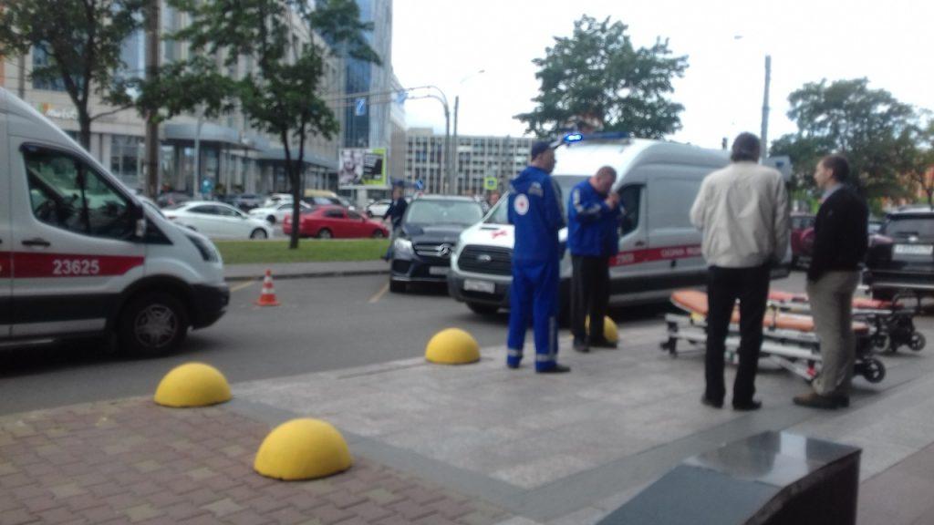 Полиция задержала подозреваемого в нападении на брокеров с топором