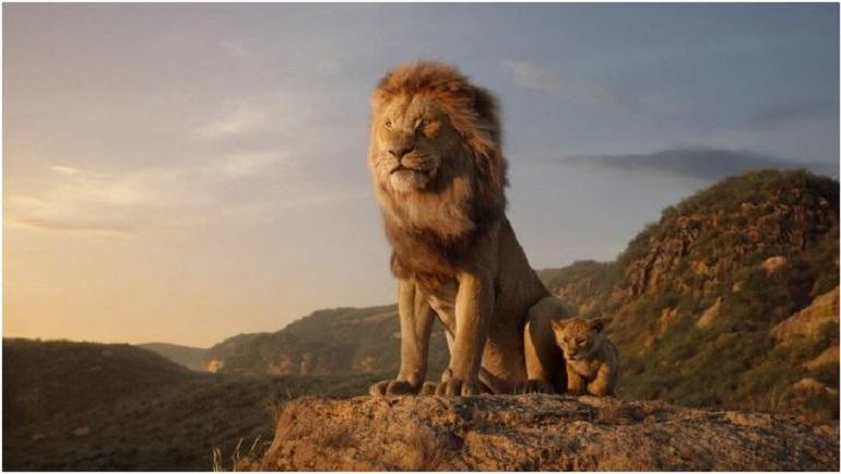 За 4 дня фильм «Король лев» собрал в России больше миллиарда