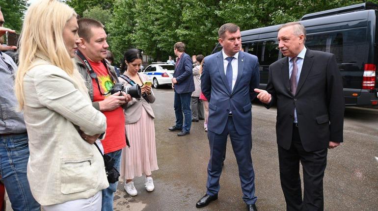 Беглов рассказал о главных итогах недели во «ВКонтакте»