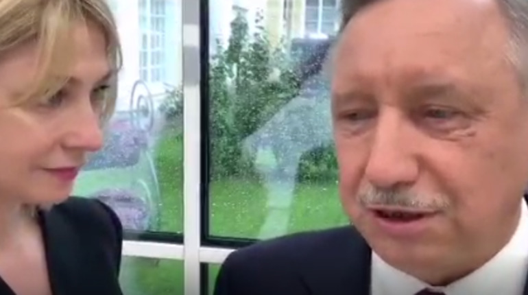 Беглов обсудил с Путиным визы и арт-парк на Добролюбова