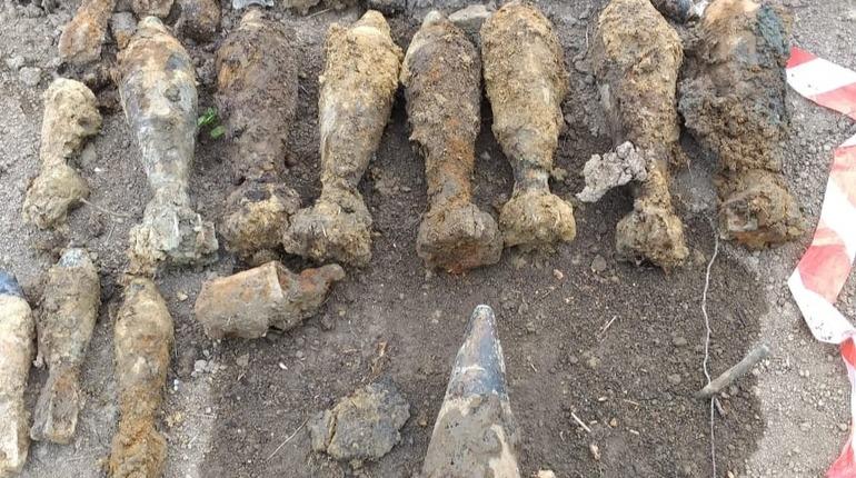 Хранивший боеприпасы ВОВ в Ленобласти мужчина нашел схрон в лесу