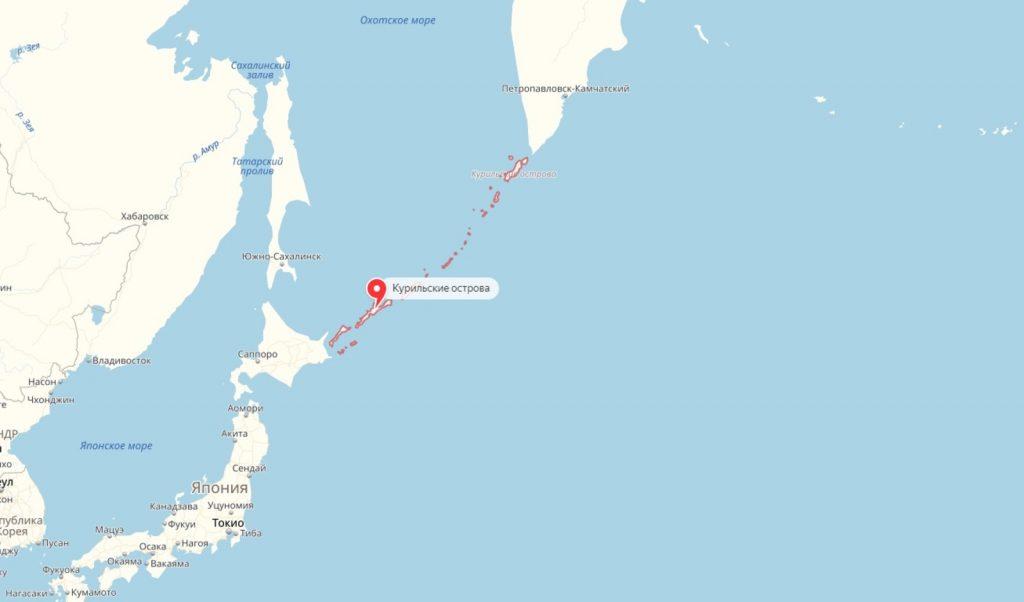 Японцы возмутились после публикации Минобороны РФ о Курильских островах