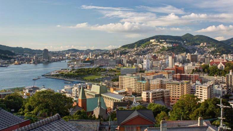 В Нагасаки из-за ливней объявили наивысший уровень опасности
