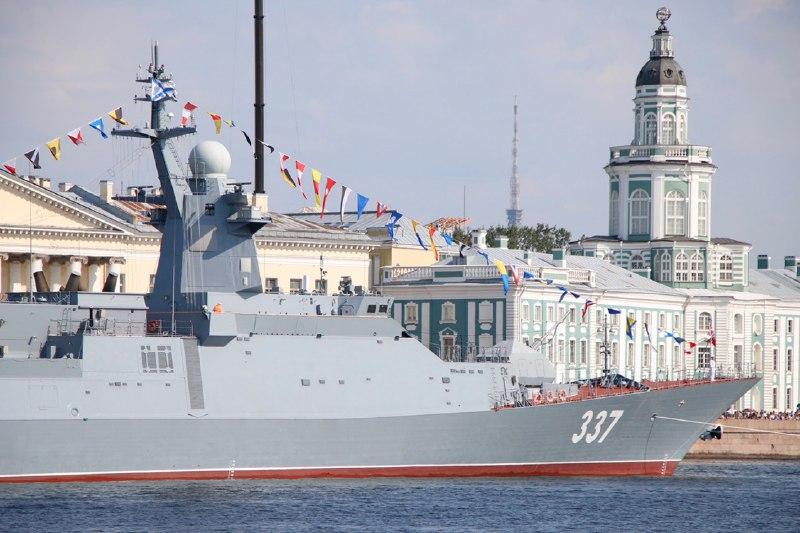 Петербуржцев ждут новые дорожные перекрытия из-за парада ВМФ