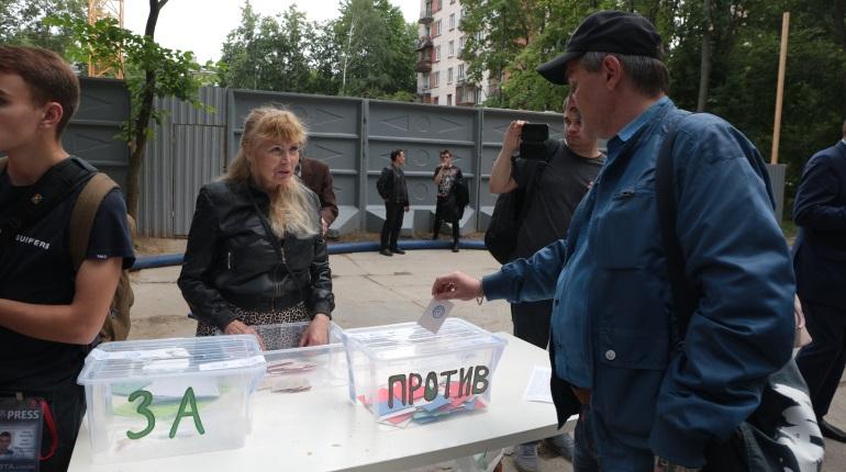 Противники ЖК «Легенда» на Институтском хотят пожаловаться Путину