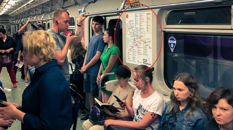 Петербуржцы разработали первый «красивый» дизайн схемы метро