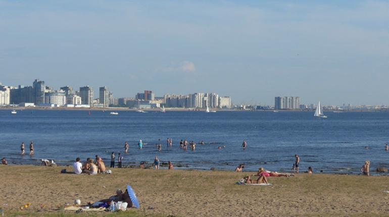Петербург будет плавиться от жары на выходных
