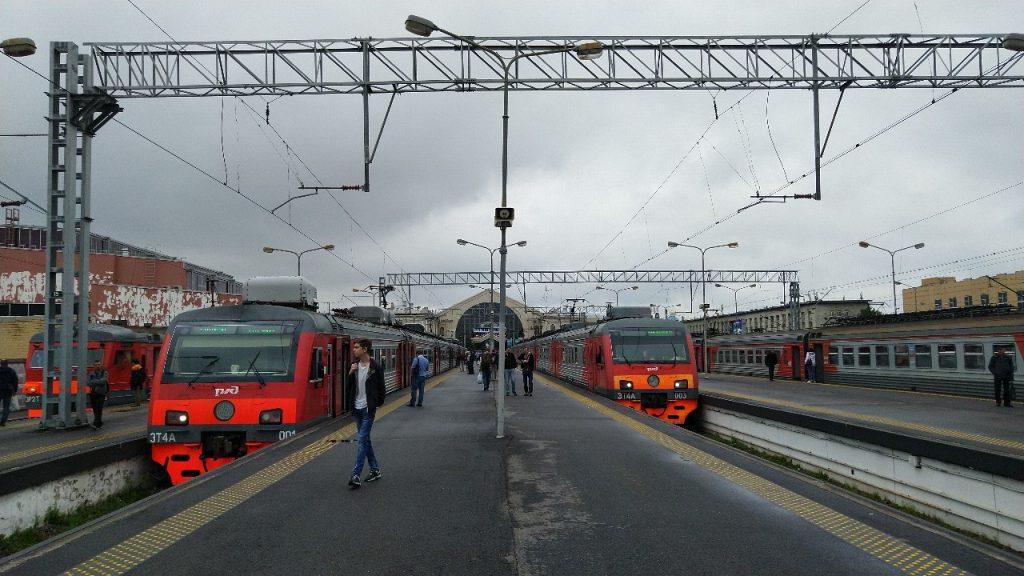 С Балтийского вокзала возобновили отправление поездов