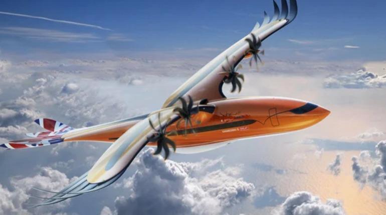 Airbus работает над самолетом в виде птицы-хищника