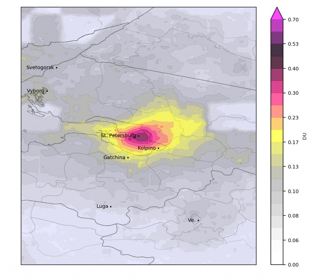 Отравленный диоксидом азота воздух вывел Петербург в лидеры антирейтинга
