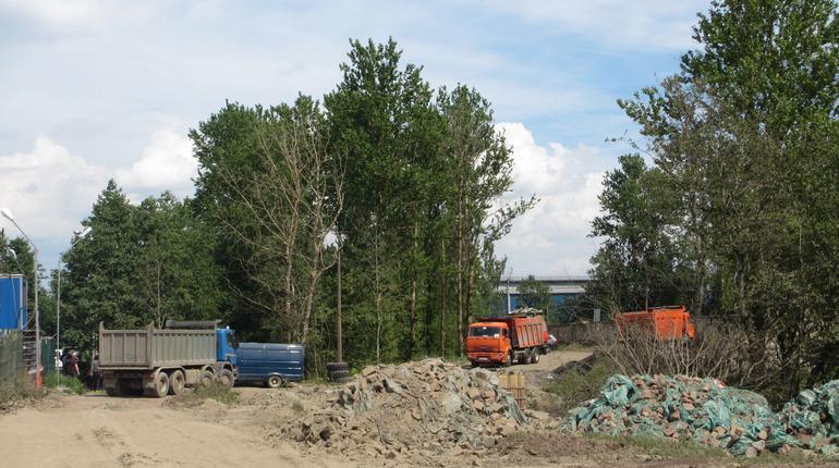 Виновников сброса отходов на свалку в Рыбацком привлекли к ответственности