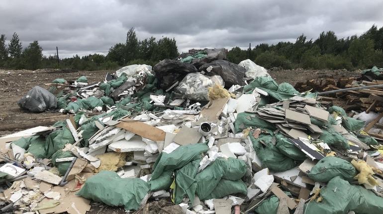 К ЖК в Рыбацком подбирается полигон с мусором