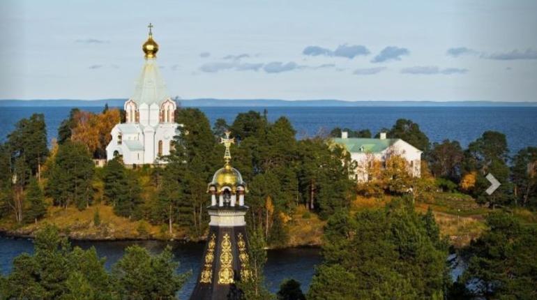 Путин и Лукашенко побывали в монастыре на Валааме
