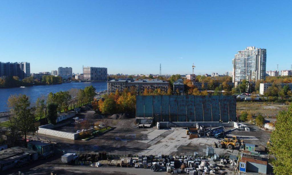 АБЗ №1 продает участок на Октябрьской набережной под многоэтажки