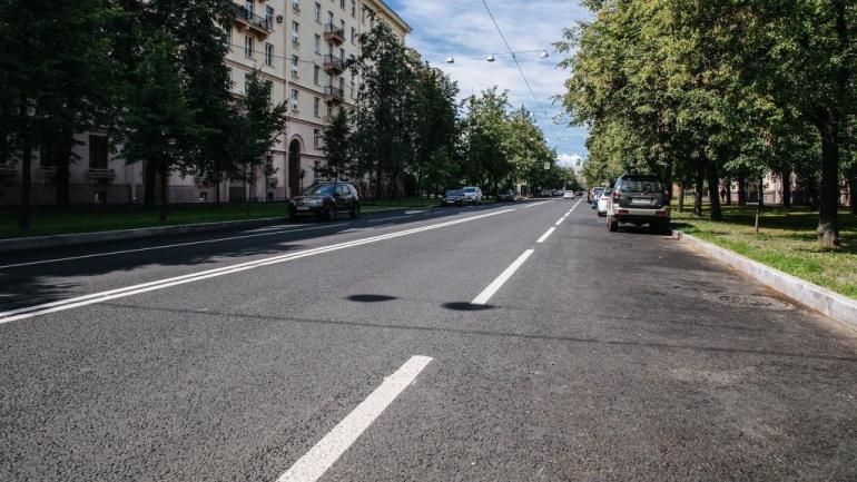 В Петербурге улицу Фрунзе отремонтировали за 60 млн рублей