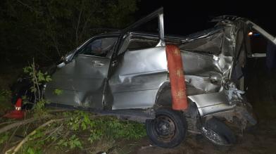 В Новосибирской области в ДТП с микроавтобусом погибла женщина