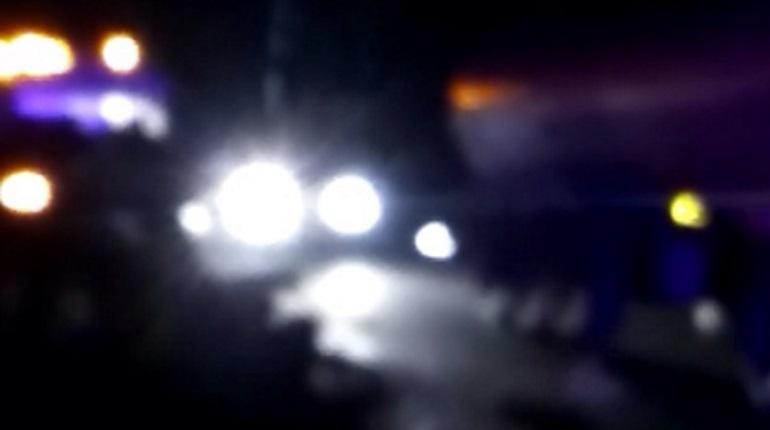 Полицейские стреляли из табельного, когда гнались за водителем по Петербургу