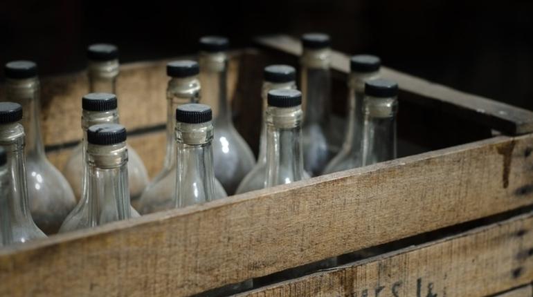 Магазин на Римского-Корсакова оставили без нелегального спиртного