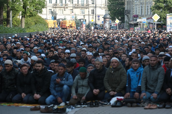 Мусульмане в Петербурге начинают праздновать Курбан-байрам