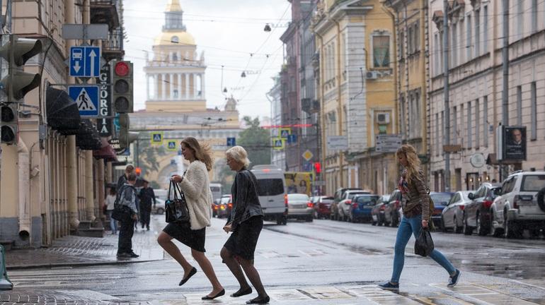 Петербуржцев ждёт пасмурное и дождливое воскресенье