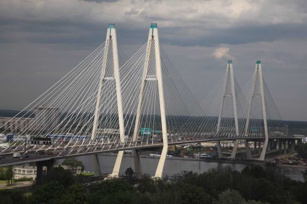 Ремонт путепровода «Нева» и вантового моста сместили, чтобы избежать коллапса