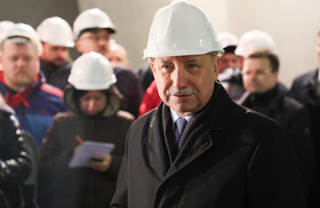 Беглов не видит возможности ускорить строительство метро на юго-западе