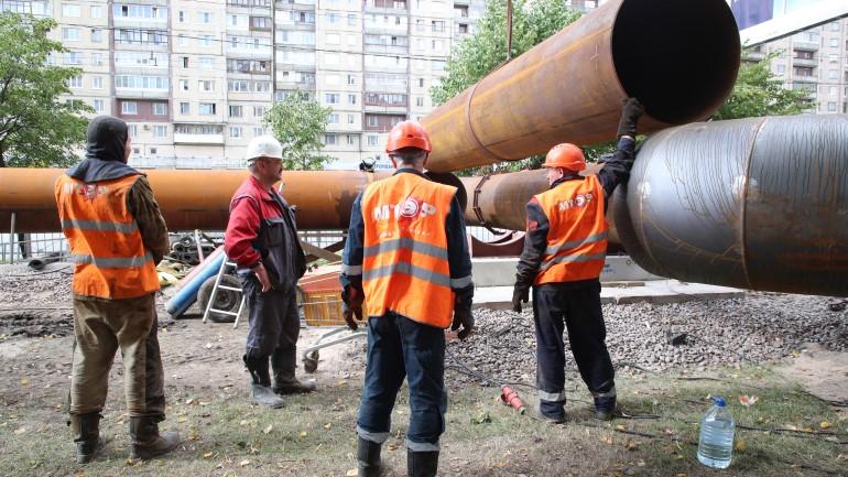 Реконструкцию «Пороховской» тепломагистрали в Невском районе закончат к 2021 году