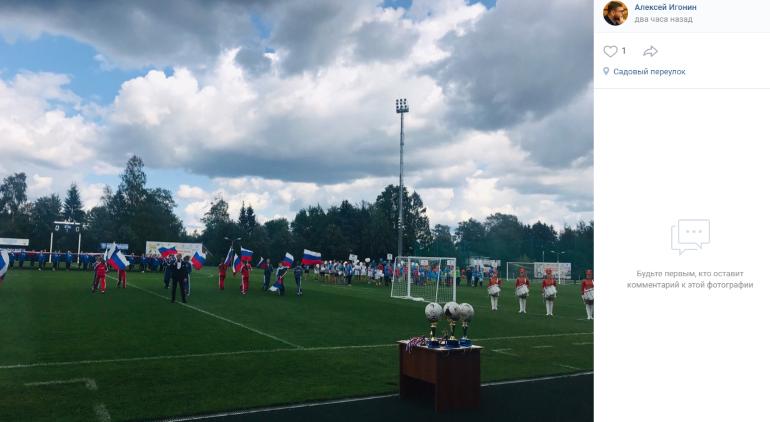 Областные команды по дворовому футболу собрались на турнире в Рощино