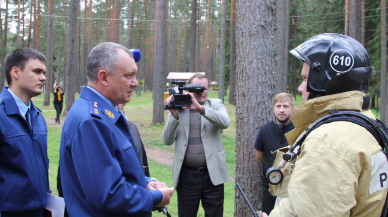 Прокурор Ленобласти проверил лагерь «Орион» и остался недоволен