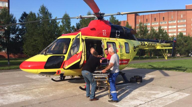 Санитарная авиация совершила восемь вылетов в Ленобласть за два дня