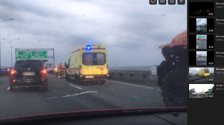 В ДТП со слетевшим кунгом на дамбе погиб человек
