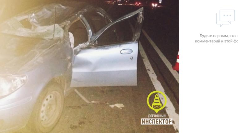 Четверо пострадали в ДТП с грузовиком в Киришском районе