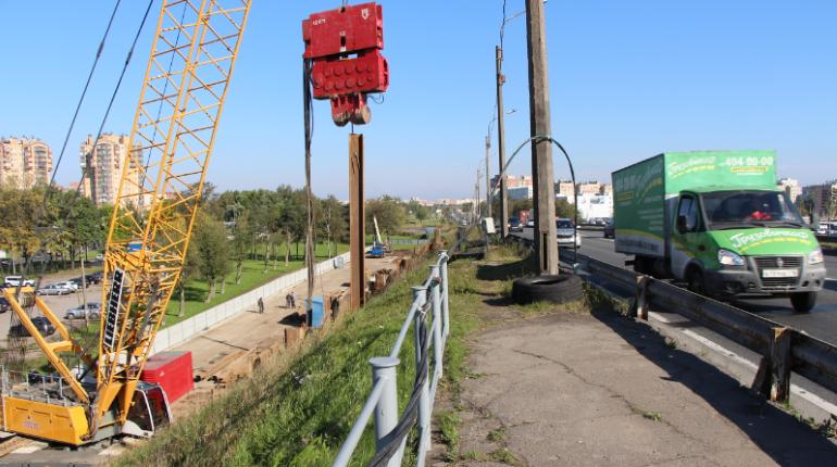 Съезд с Лиговского путепровода расширят на одну полосу