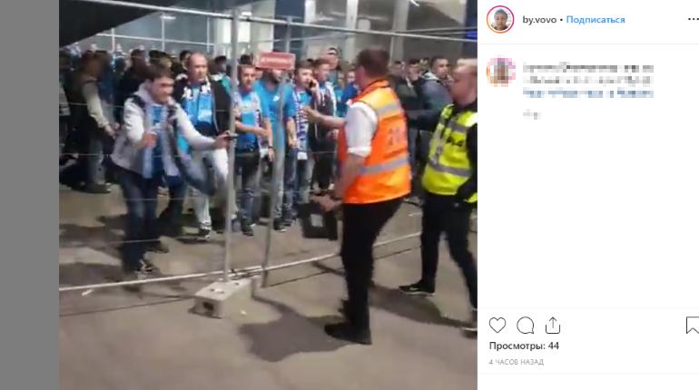 Недотянувшийся ногой до головы омоновца фанат «Зенита» заплатит 15 тысяч