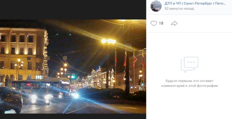 ДТП с такси и автобусом перекрыло площадь Восстания
