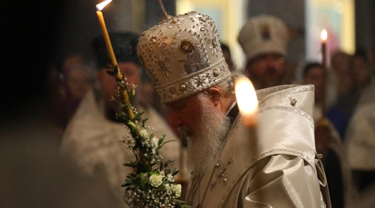 Патриарх Кирилл возглавил всенощное бдение в Казанском соборе