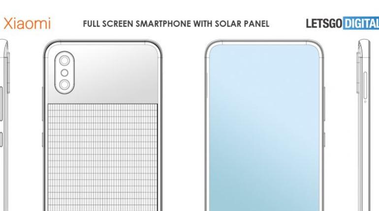 Xiaomi запатентовала телефон с солнечной батареей