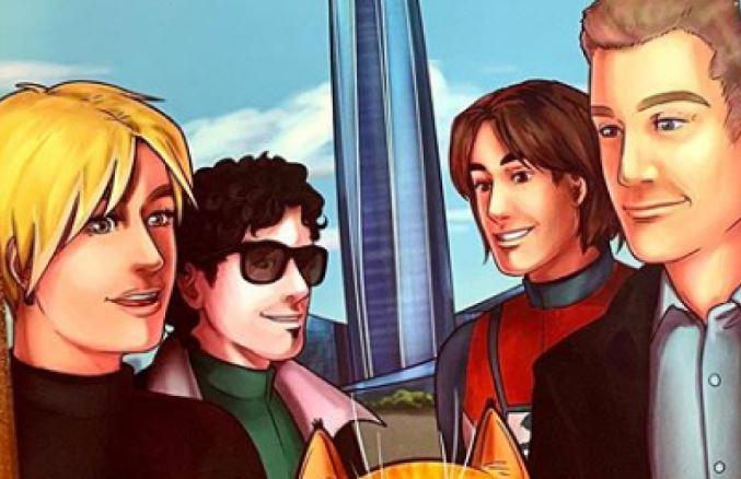 «Лахта Центр» создал комикс о супергероях и супер-коте