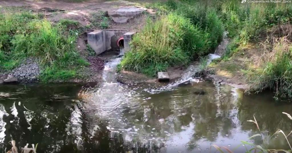 Роспотребнадзор проверит законность сброса сточных вод в реку в Кудрово