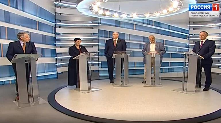 В Петербурге прошли первые дебаты кандидатов в губернаторы